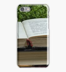Reading books source of knowledge iPhone Case/Skin