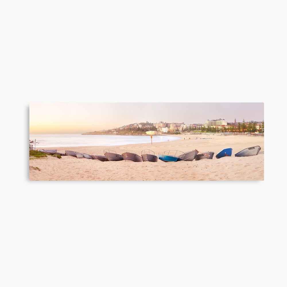 Coogee Beach Boats, Sydney, New South Wales, Australia Metal Print