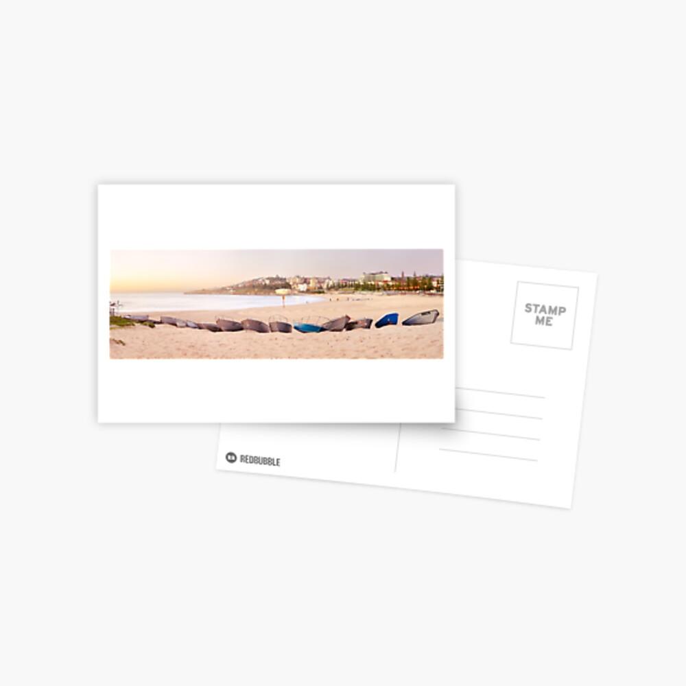 Coogee Beach Boats, Sydney, New South Wales, Australia Postcard