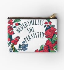 Nevertheless She Persisted Studio Pouch
