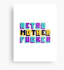 Retro Motherfucker Metal Print