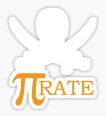 Pi-rate Sticker