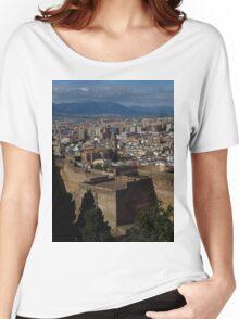 View from Castillo De Gibralfara, Malaga Women's Relaxed Fit T-Shirt