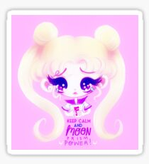 Keep Calm and Moon Prism Power! Sticker