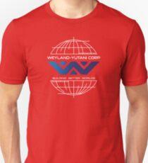 Weyland Yutani - Building Worlds Gradient Logo Unisex T-Shirt