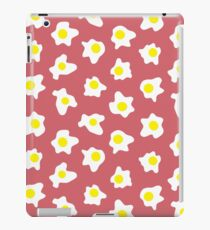 Eggs Over Red iPad Case/Skin