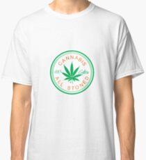 Cannabis Logorythm Classic T-Shirt