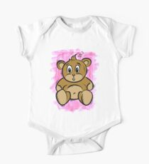 Teddy Bear One Piece - Short Sleeve