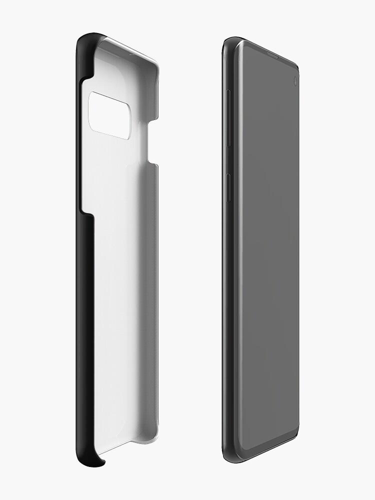 """Vista alternativa de Funda y vinilo para Samsung Galaxy Peep Show Mark """"Simplemente otro día ordinario"""". Impresión"""