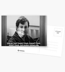 """Peep Show Mark """"Just another ordinary day."""" Print Postcards"""