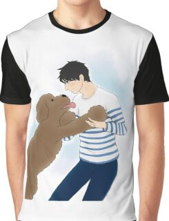 ma ma makkachin - yuri on ice Graphic T-Shirt