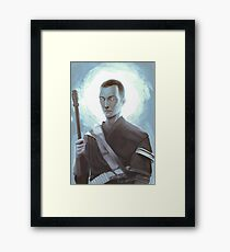 One With The Force Framed Print
