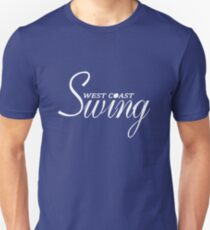 West Coast Swing Unisex T-Shirt