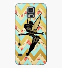 Tinkerbell Pixie Dust Quote Case/Skin for Samsung Galaxy