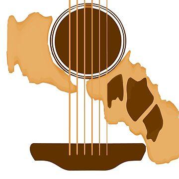 GUITAR Glen Hansard by e-vira