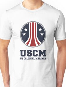 United States Colonial Marines - USCM Variant Unisex T-Shirt