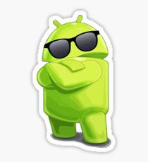 android cool glasses sunglasses Sticker