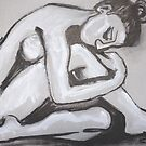Posture 4 - Female Nude by CarmenT