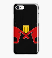 DREDD HELMET iPhone Case/Skin