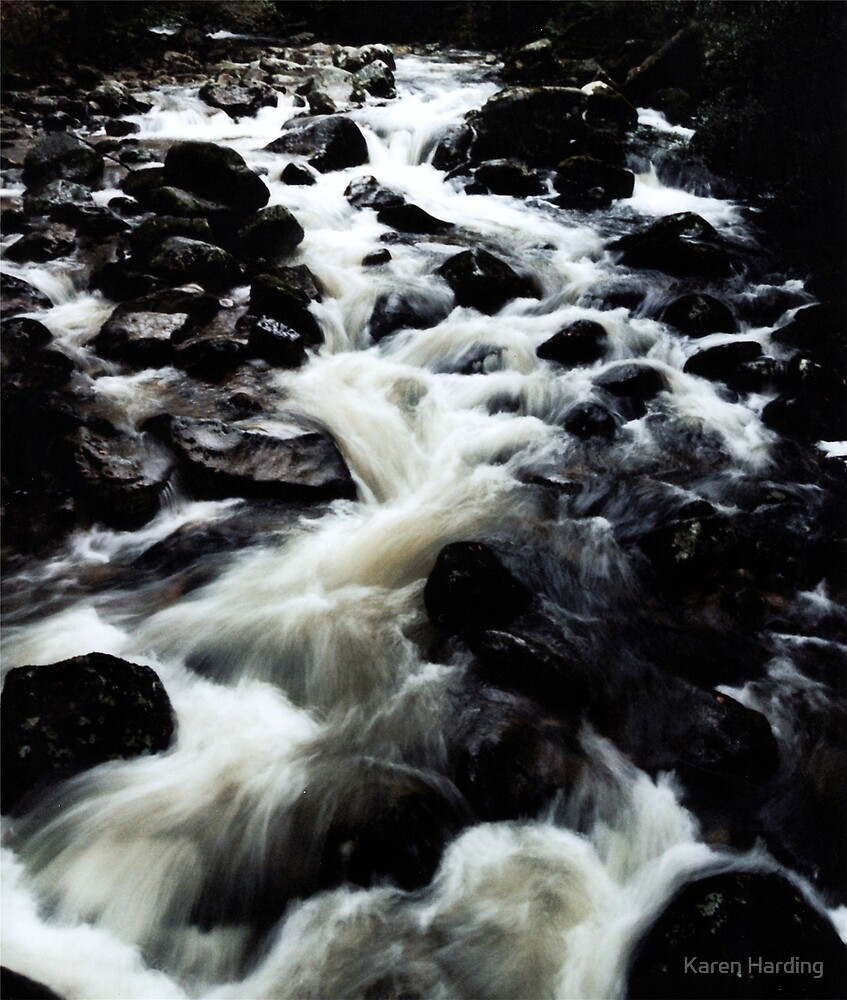 River of Rock by Karen Harding