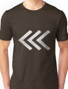 Arrows in Silver Unisex T-Shirt