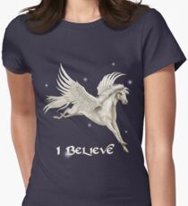 Flying Pegasus Women's Fitted T-Shirt