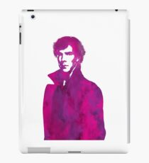 Sherlock pink vector graphic iPad Case/Skin