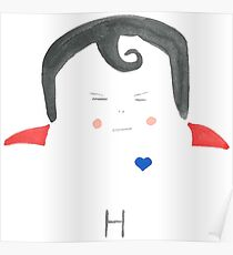 H is for Heroic Poster