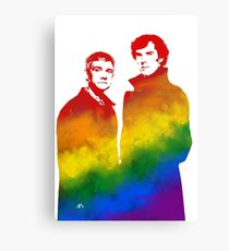 Johnlock Canvas Print