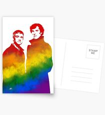 Johnlock Postcards