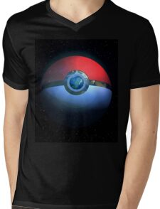 Pokemon World Mens V-Neck T-Shirt