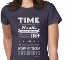 Doctor Who Quote Womens Fitted T-Shirt