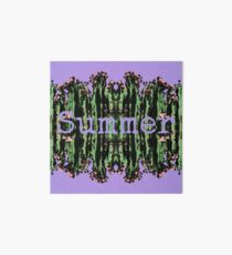 Cacti Summer Reflections Typography  Art Board