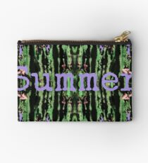 Cacti Summer Reflections Typography  Studio Pouch