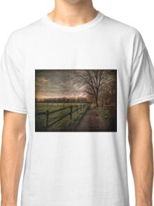 Textured Landscape | Germany Classic T-Shirt