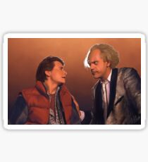 Doc and Marty Sticker