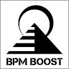 BPMBoost Logo White  by BPMBoost