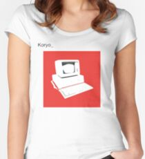 bland IBM Women's Fitted Scoop T-Shirt