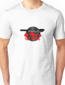 Machete Ish Records logo | blood and vinyl  Unisex T-Shirt