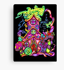 Gnome House Canvas Print