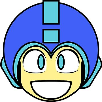 Mega Man - 1-Up Icon by stevenchase