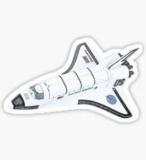 NASA Space Shuttle Sticker