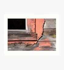 windowsill Art Print