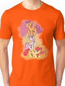 Cutiemark Crusaders Stack [Colored Design] Unisex T-Shirt