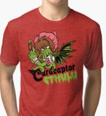 Card Captor Cthulu Tri-blend T-Shirt