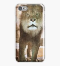 The Lion King- Brookfield Zoo  (layered image) iPhone Case/Skin