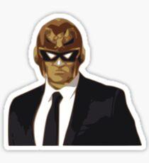 Captain Falcon in Formal Attire Sticker