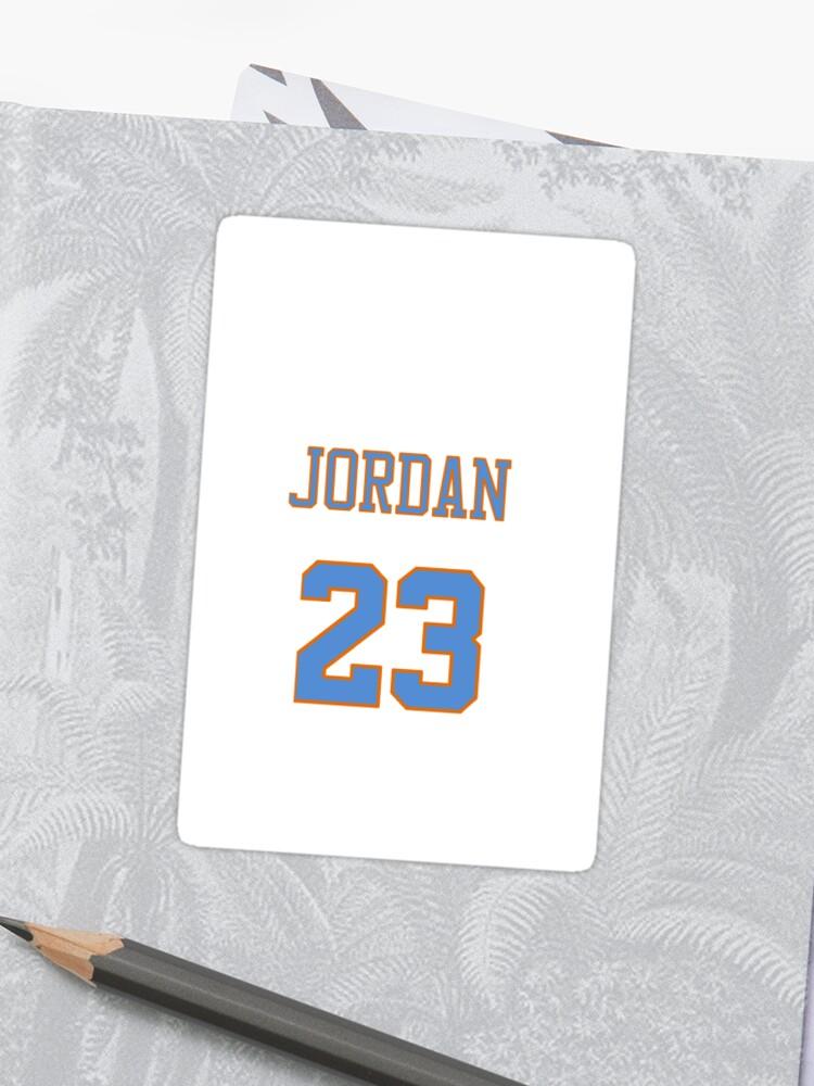 166eba38b3e4 Michael Jordan 23 Space Jam Tune Squad Looney Tunes Jersey Case Sticker
