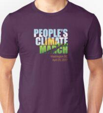 People's Climate March - April 29, 2017 Washington DC Unisex T-Shirt