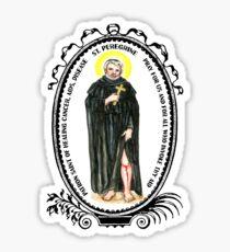 Saint Peregrine Patron of Healing Bodily Illness Sticker